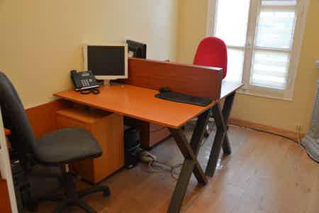 Bureau équipé 2 poste Boulogne Billancourt