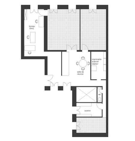 Espace semi-privé 19m2 3 postes-3