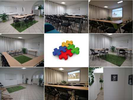 Salle d'atelier modulable