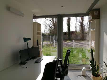 Bureau semi-privé 2 postes rive droite