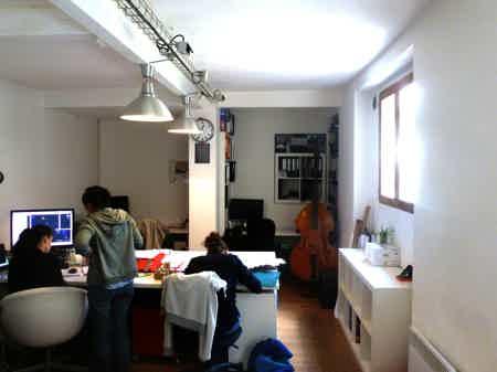 Atelier partagé Belleville -1 poste dispo