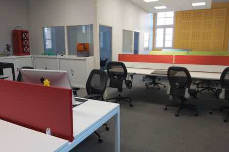 Bureau en coworking