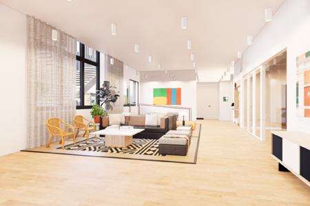 Bureau fermé • 12 m² • 3 postes