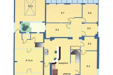 Bureau fermé en centre d'affaire-4