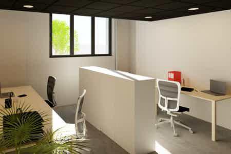 Bureaux fermés 19 m² - 6 postes
