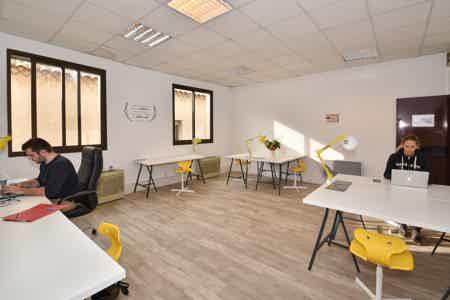 Bureau en openspace centre ville Marignane