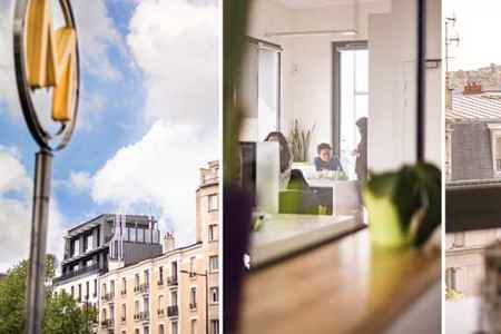 co-working creatif roof-top terrasses