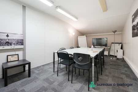 PROMO  : Bureaux en open space / ST-Lazare-4