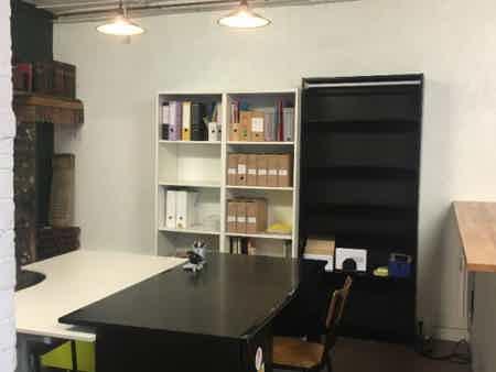 Bureaux open space dans maison-1