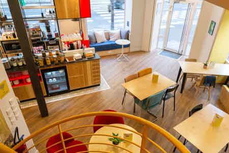 Café coworking Rue La Fayette