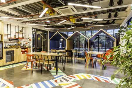 Café Coworking à Station F