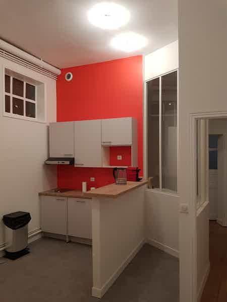 Bureau privé+espace partagé Centre Nantes