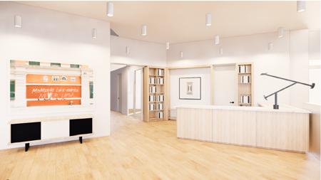 Bureau fermé • 12 m² • 3 postes-3