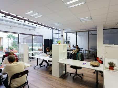 1 poste individuel // Flex Office