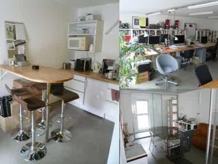 Bureau lumineux nantes centre (coworking)