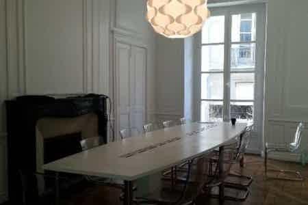 Bureau privé+espace partagé Nantes Centre