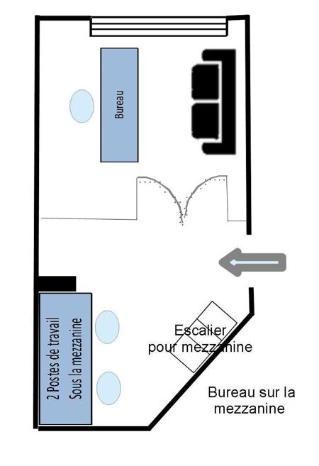 Plan du bureau