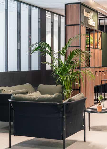 Bureau de 9 postes avec terrasse
