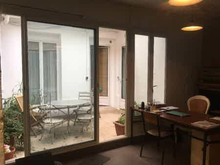Bureaux open space dans maison