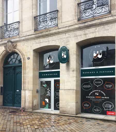 Bureau à partager hyper centre Bordeaux-2