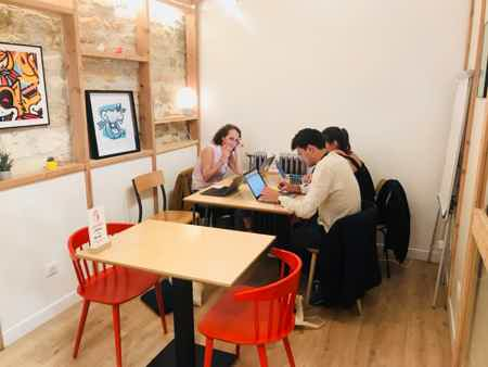 Poste coworking mois