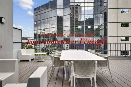 Bureau privatif 5p avec terrasse privée-12