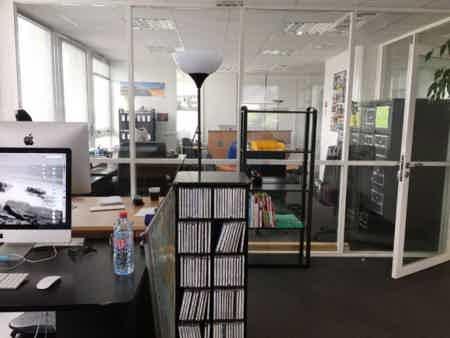 Co-working en open space-1
