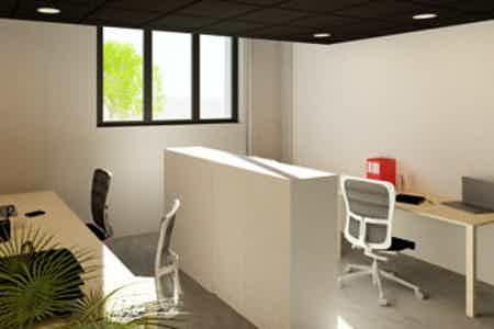 Bureau fermé - 17 m2 - 5 postes
