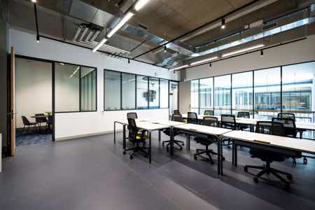 Bureau fermé - 14 postes+salle de réunion