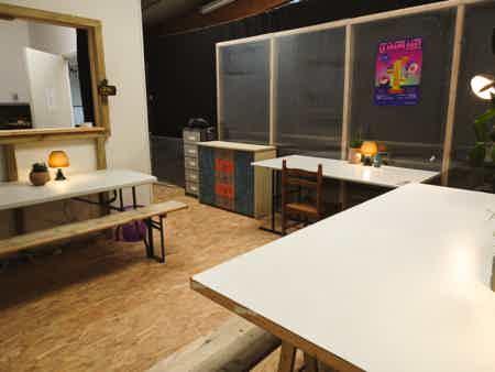 Coworking en open space