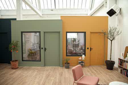 Bureau fermé dans un espace de coworking-4