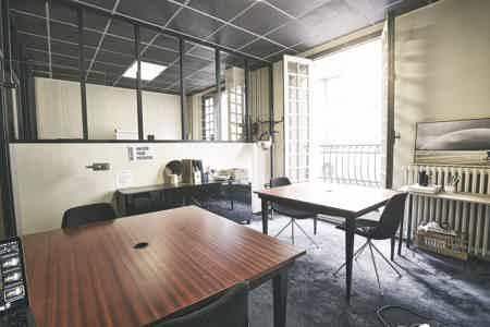 Bureau fermé 4 pers proche Saint Lazare