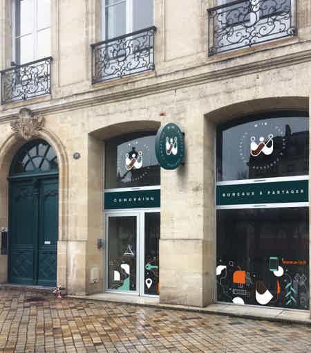 Bureau à partager hypercentre de Bordeaux-8