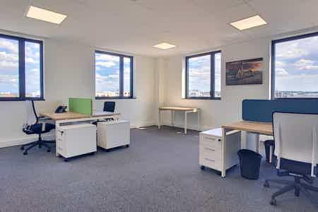 Bureau - 4 postes de travail