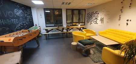 Espace semi privatif - Paris 9-3