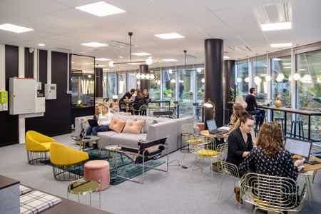 Location de bureaux en OpenSpace à Rennes