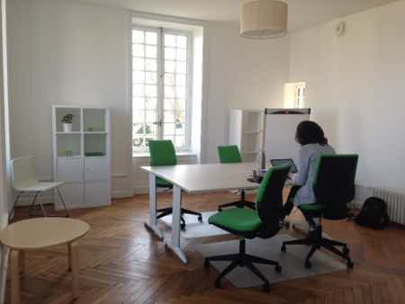 3 bureaux à louer au vert et au calme -1