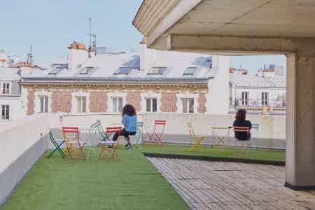 Poste en open space nomade - Paris 14-3