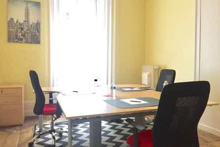 Bureau tout inclus en centre d'affaires