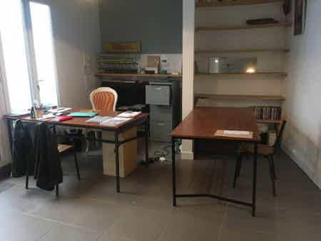 Bureaux open space dans maison-2