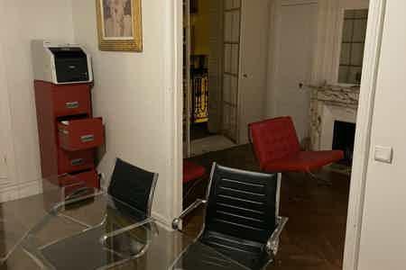 Chic bureau parisien