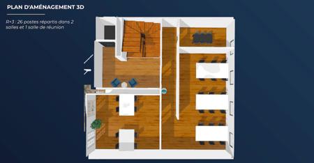 Hôtel Particulier - 744m2 - 100 postes-12