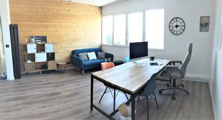 bureau individuel lumineux à louer 20m²