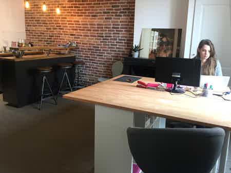 Bureau agréable pour freelance
