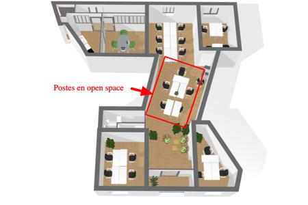Jardin Public - Poste Open Space