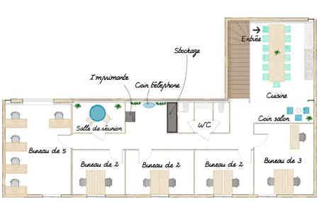 Bureau fermé à Ecully / Ouest Lyonnais-8