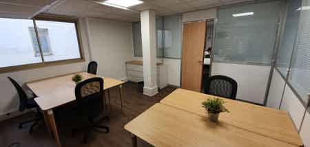Bureau 5 pers dans un espace de coworking