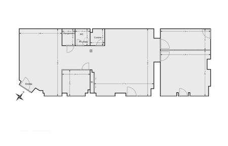 96 m² de bureaux indépendants et équipés-7