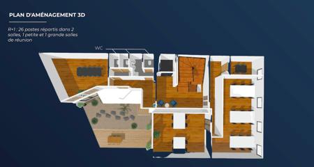 Hôtel Particulier - 744m2 - 100 postes-10
