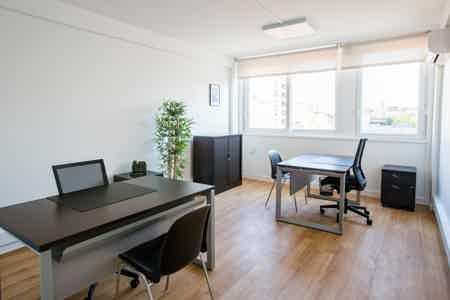 Bureau équipé 2 postes Prado-Castellane